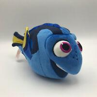 "TY Disney Sparkle Dory Finding Nemo 9"" Plush Stuffed Animal Blue Fish New Tags"