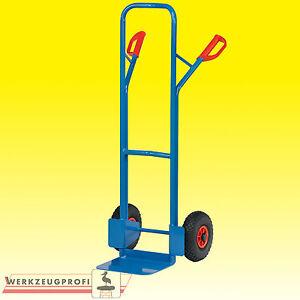 FETRA Stahlrohrkarre B1325V 300 kg Tragkraft Transportkarre Sackkarre Karre