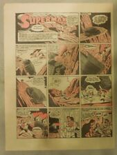 Superman Sunday Page #141 by Siegel & Shuster from 7/12/1942 Half Page:Year #3!