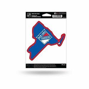 New York Rangers Home State Sticker Flat Die Cut Decal Emblem Auto Home Hockey