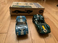 1960s Vintage Cox Slot Cars Ford GT Lotus 32