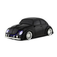 2.4Ghz Wireless Beetle car Mouse optical PC Laptop Mice USB Receiver Black US