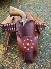 "Cowboy Western holster belt rig, SASS, CAS, NCOWS, The ""Mike"" rig."