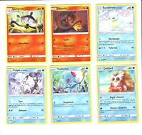 "CARTE POKEMON - ""SOLE E LUNA GUARDIANI NASCENTI"" - LOTTO 2"