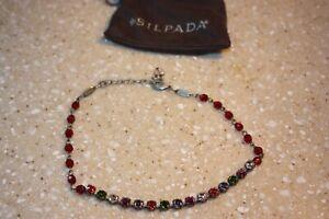 Sabika Colorful Swarovski Crystal Choker 16 inch Necklace
