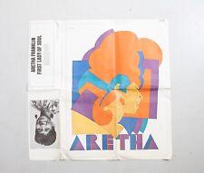 ARETHA FRANKLIN Vintage1968 poster MILTON GLASER RARE