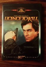 1989 James Bond Licence to kill dvd special edition