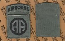 US Army 82nd Airborne Division ACU uniform patch m/e