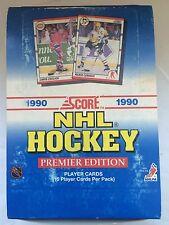 1990 Score Hockey Box 36 ct. *Possible Brodeur Rookie*