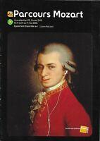 Mozart - Programme 28 pages - Sélection FNAC - CD livres DVD Spectacles - 2006