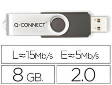 Memoria Q-connect Flash USB 8GB