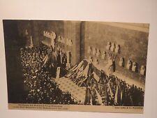 Regensburg - Walhalla - 1908 Huldigung der Corps-Studenten vor Büste Bismarck's