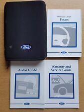 FORD FOCUS ESTATE 3 5 DOOR HANDBOOK OWNERS MANUAL WALLET 1999–2001 PACK D-86