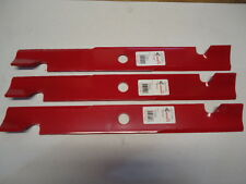 "NEW 3 Pack HD Hi Lift Blades 60"" Exmark Mower 103-6403 103-6403S 20-1/2"" US MADE"
