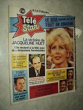 TELESTAR 0009 (4/12/76) TONY CURTIS JACQUELINE HUET GUY BEDOS CHRISTIAN MARIN