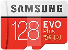 SAMSUNG EVO PLUS MICRO SDXC 100MB/s Read 90MB/s Write 128GB FLASH MEMORY CARD AU