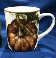 BRAND NEW~ 1 Williams Sonoma Botanical Pumpkin MUG ~ Multiples Available
