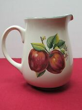 New listing China Pearl Casuals Apples 64 Oz Water Pitcher, Excellent Condition