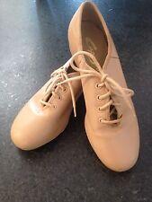 Capezio Tele Tone Extreme Unisex Tap Shoes Model CG55 Tan Size 6M