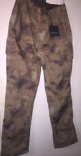 "Men's Shark skin Military Fleece Soft Shell repel water Camo Pants Trousers 36"""