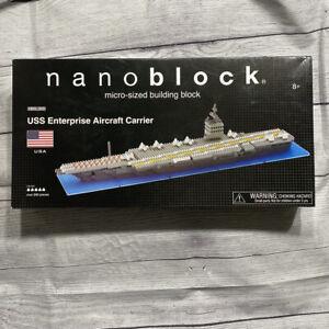 USS Enterprise Aircraft Carrier CVN-65 Nanoblocks Building Blocks