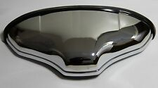 CLASSIC FIAT 500 600 NUMBER PLATE PLINTH LIGHT CHROMED PLASTIC BRAND NEW
