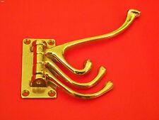 GARDEROBENHAKEN Messing 12cm (Wandhaken, Kleiderhaken, Garderobe) Bauhaus Design