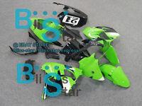 Green decals Fairing Bodywork Plastic Kit Kawasaki Ninja ZX-9R 2002-2003 3 D2