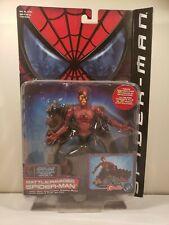 Spider-man Movie 2002 Battle Ravaged Spiderman Figure