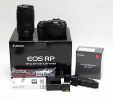 Canon EOS RP 26.2MP Mirrorless Camera w/ RF 24-240mm IS Lens, EF Adapter & More!