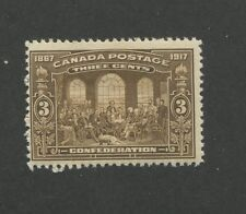 Canada 1917 Fathers of Confederation by Robert Harris 3c Stamp #135 CV $30