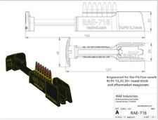 RAE-716 FN Five-seveH High Speed Magazine Loader. Loads 7 RD of 5.7x28mm Mag pro