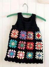 (155) Crochet Pattern for Girls Granny Square Top