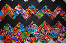 Fantastic Felines LAUREL BURCH Kitty Cat Quilt Block Fabric Squares