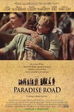 PARADISE ROAD MOVIE POSTER SS Original 27x40 GLENN CLOSE FRANCES MCDORMAND 1997
