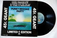 "MAXI 45 / BOB MARLEY AND THE WAILERS ""JAMMING / PUNKY REGGAE PARTY"" / ISLAND 197"