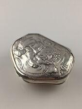 18th Century Georgian Hallmarked Silver Snuff Box. London, LM, 1741