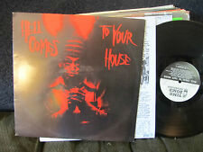 V/A Hell Comes to Your House LP NM christian death 45 grave red cross rare lyric