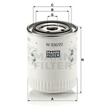 Mann Oil Filter Spin On For Land Rover Defender Cabrio 2.5 D 2.5 TDI 4x4