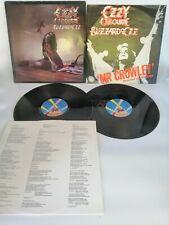 Ozzy Osbourne - Blizzard of Ozz LP & Mr Crowley Vinyl LP 1980 JETLP234. Preowned