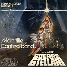 """The London Symphony Orchestra Star Wars Main Title Guerre Stellari 7"""" ITALY M-"""