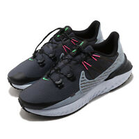 Nike Legend React 3 Shield Black Grey Pink Green Men Running Shoes CU3864-010