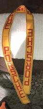 "2"" By 50"" Porsche Martini Car Racing Strap Yellow Red/Orange DIY Ribbon Event"