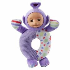 Teletubbies Baby Toy Tinky Winky Wrist Chime Rattle Baby Early Play Soft Toy NEW