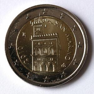2 Euro Kursmünze Münze Coin San Marino Regierungspalast Palazzo Pubblico 2010
