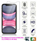Premium Quality Tempered Glass Screen Protector For Apple iPhone6/7/8/X/11/12/13