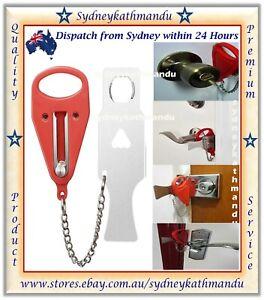 Portable Door Lock Hardware Security Safety Guard Travel Hotel Home AddalockSafe