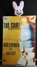 THE CURE - THE SWING TOUR - Affiche concert Paris 1996 - Poster 119 x 79 cm