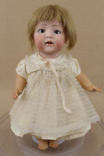 """14"""" old antique bisque head composition JW Nippon Japan character baby doll"""