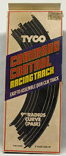 "Tyco Command Control Quik-Clik Racing Track # 6433- 9"" Radius Curve Pair"